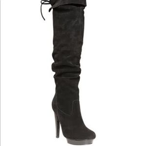 Steve Madden Xenon suede Over the knee boots